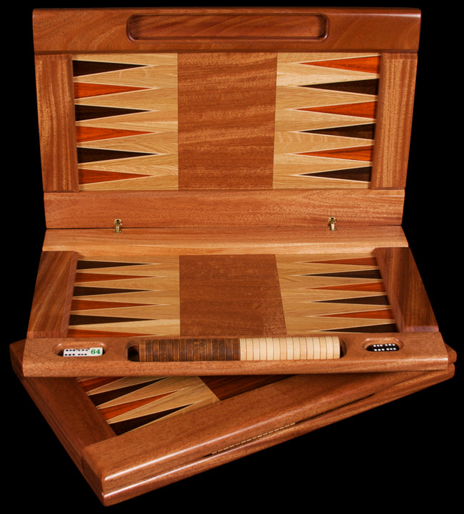 Folding Wood Backgammon