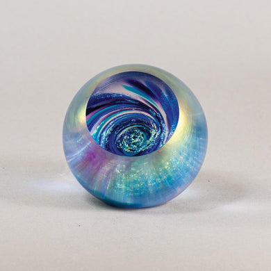 Fireball Paperweight in Vortex
