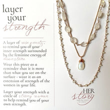 Load image into Gallery viewer, Layer Your Strength Necklace