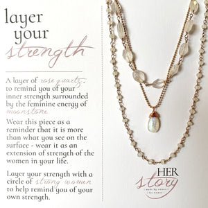 Layer Your Strength Necklace