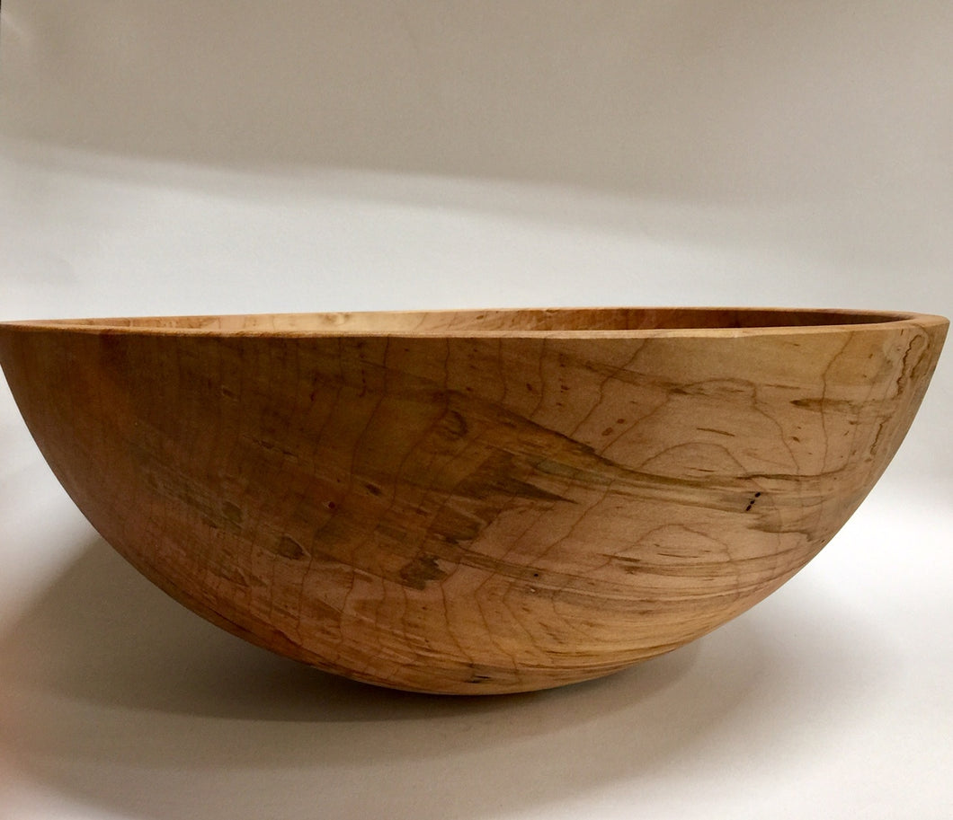 Large Figured Maple bowl