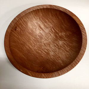 Fiddle Back Maple Bowl