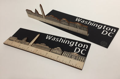 Ruler With Washington DC Skyline