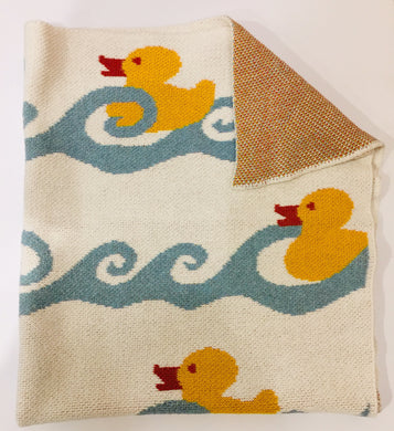 Baby Throw ducky