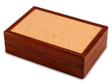Jewelry Box in Bubinga and Maple in the Meadow Collection