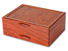 Load image into Gallery viewer, 1 Drawer Prairie Box in Bubinga