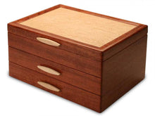 Load image into Gallery viewer, Cascade II 2 Drawer Jewelry Box