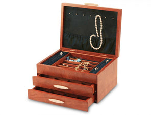 Cascade II 2 Drawer Jewelry Box
