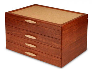 3 Drawer Bubinga Grand Cascade Box