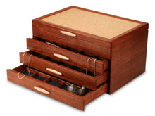 Load image into Gallery viewer, 3 Drawer Bubinga Grand Cascade Box