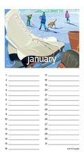 Load image into Gallery viewer, Dates To Celebrate Events Kate Libby Calendar Spiral Bound