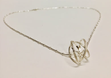 Sterling Silver Mobius Pendant