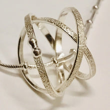 Load image into Gallery viewer, Sterling Silver Mobius Pendant