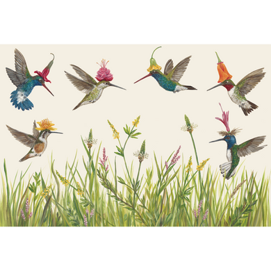 Paper Himmingbirds Placemats