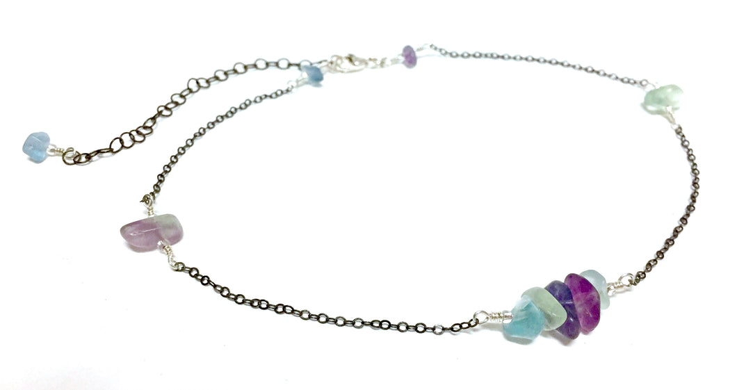 Necklace Sterling Silver Forite Intuitive II