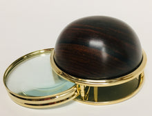 Load image into Gallery viewer, Desk Magnifier Asst Cocobolo