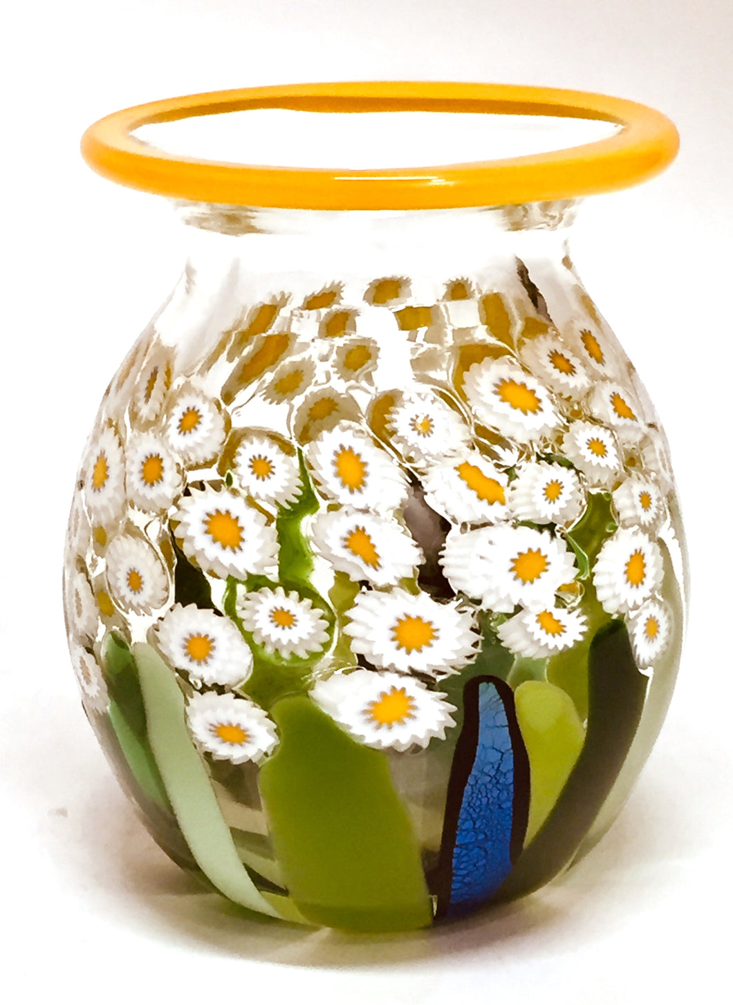 Clear Daisy Vase Mini