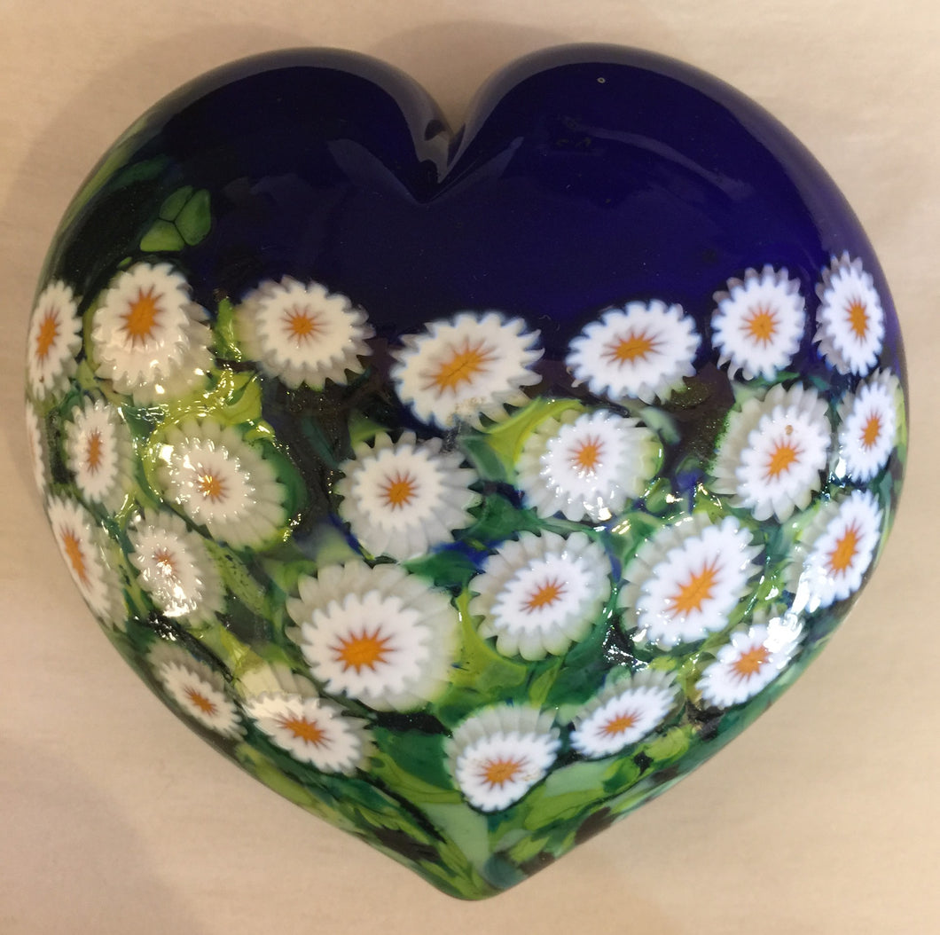 Blue Sky Daisy Paperweight