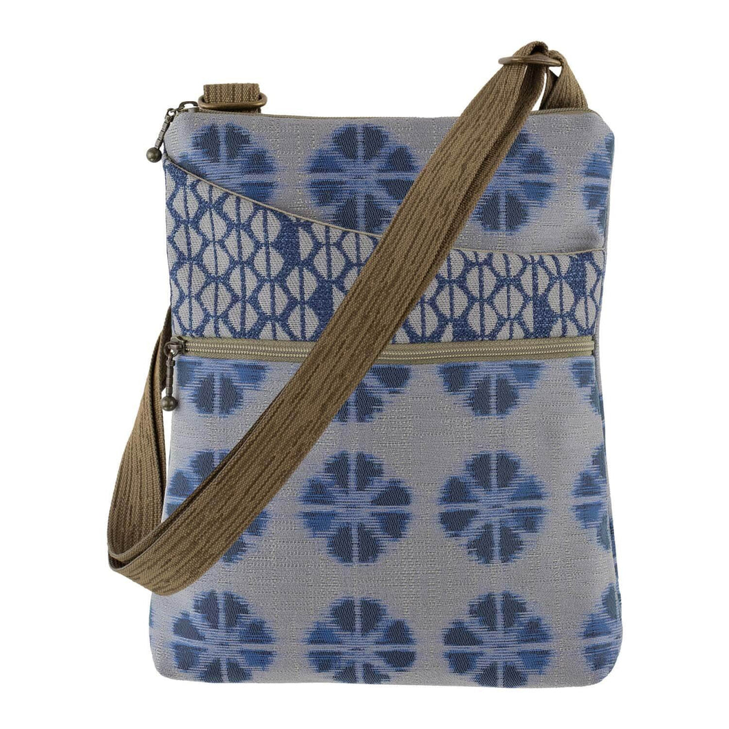 Pocket Bag in Kyoto Blue Fabric