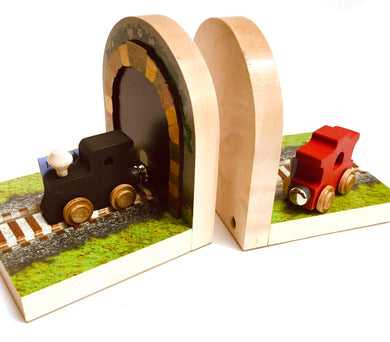 Bookends Train/Engine/Caboose