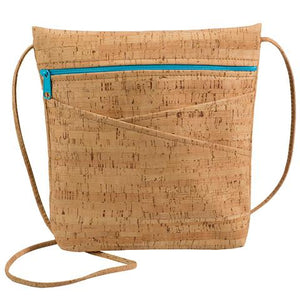 Be Lively 3 Rustic Cork with Aqua Zip