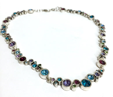 Necklace Circle Ovation in Waterlilly