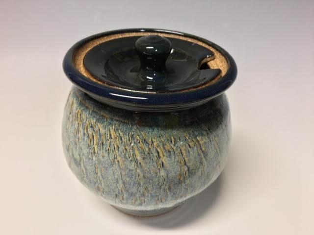 Blue Honey Pot