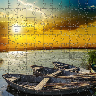 River Sunset Small Puzzle