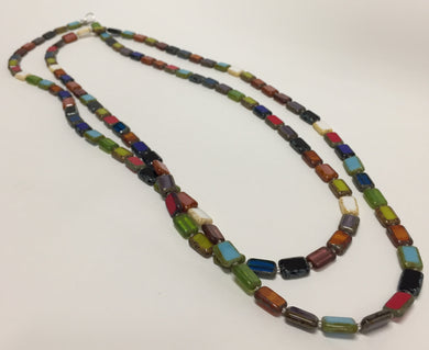Necklace Trilogy Rainbow Long