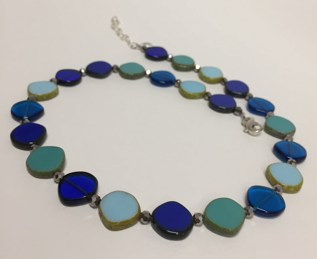 Necklace Full Circle Ocean