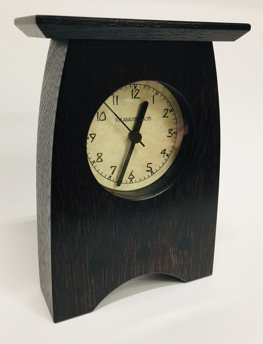 Clock - Arts + Crafts Slate