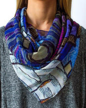 Load image into Gallery viewer, Village Silk Scarf