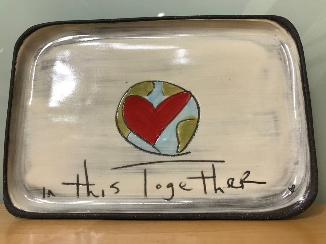 Plate, in This Together