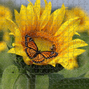 Sunflower Large Puzzle