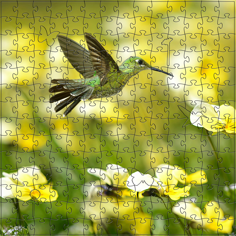 Summer Hummingbird Medium Puzzle
