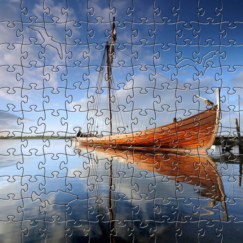 Ship Denmark Small Puzzle