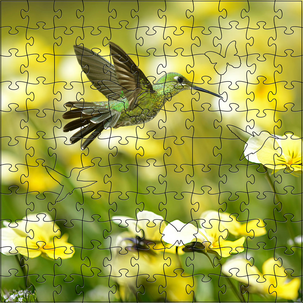 Summer Hummingbird Small Puzzle