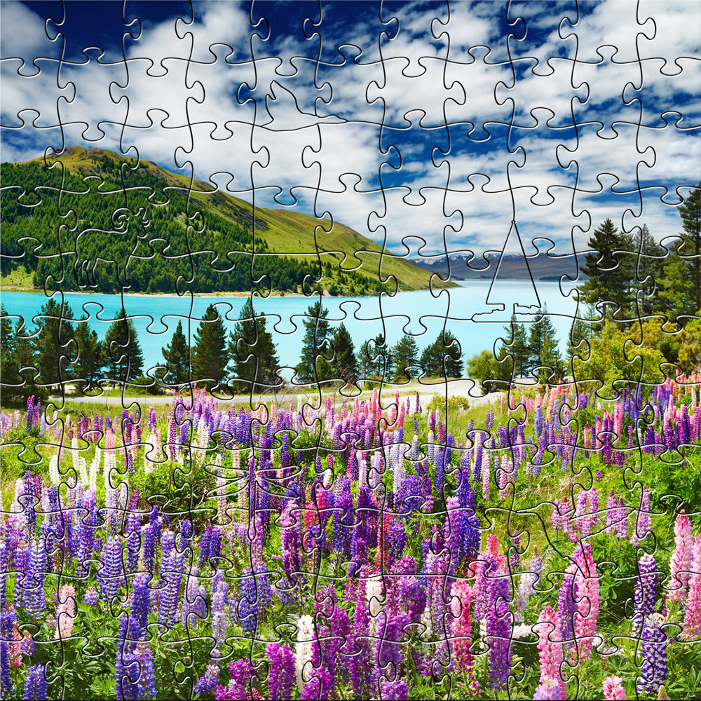 MOUNTAIN LAKE Small Puzzle