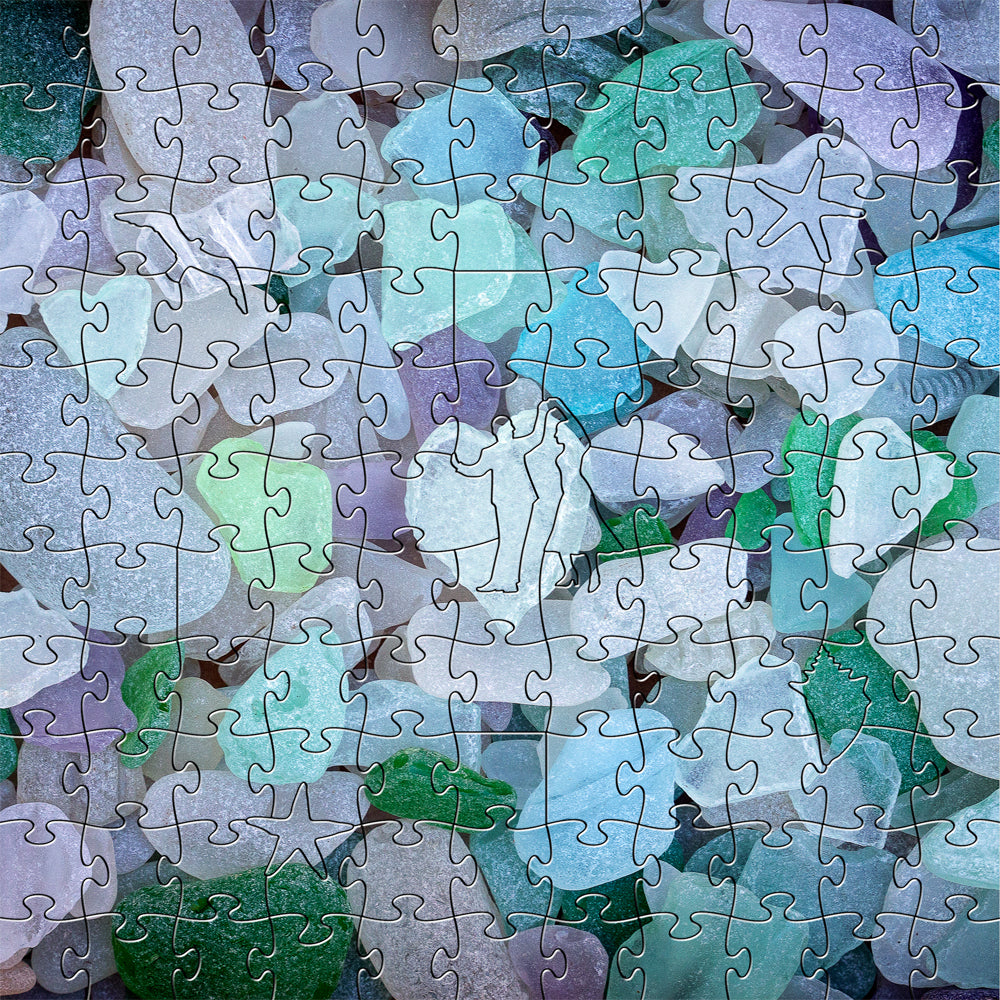 Sea Glass Small Puzzle