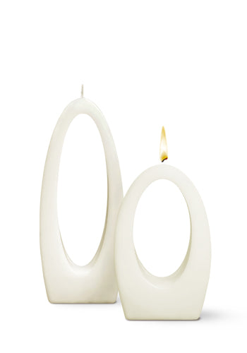 Multiflame Candle - Luna Una in White