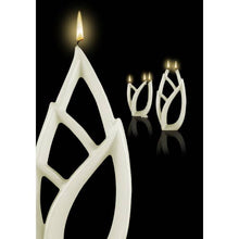 Load image into Gallery viewer, Multiflame Candle - Livia Grande in White