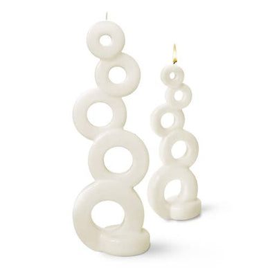 Candle Multiflame Soma White