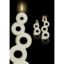 Load image into Gallery viewer, Multiflame Candle - Soma in White