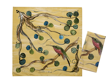 Pair of Hummingbird Napkins