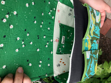 Load image into Gallery viewer, Freehand Applique Hummingbird Messenger Bag