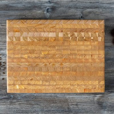 Larch Cutting and Serving Board