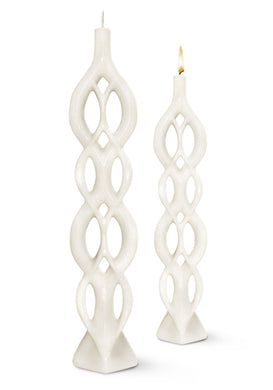 Candle Multiflame Lela White