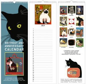 Cat Perpetual Calendar B-day