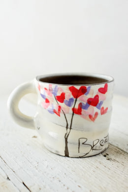 Mug, Breath Love Tree