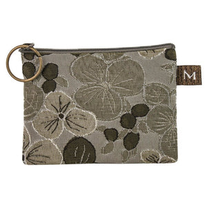 Coin Purse in Pansy Sage